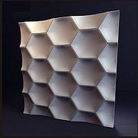 Гіпсова 3Д панель Медок