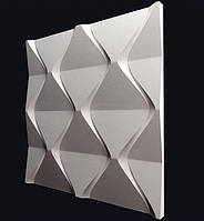 Гіпсова 3Д панель Пірамідки