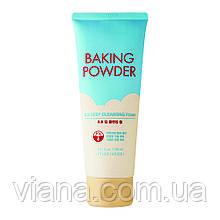 Пенка для удаления макияжа и ББ-кремовETUDE HOUSE Baking Powder Pore & BB Deep Cleansing Foam 160 мл