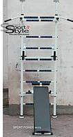 Шведская стенка Sport Power (white) с держателями штанги.