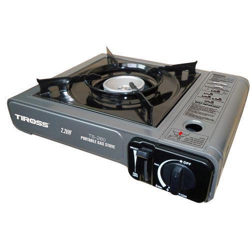 Газовая плита Tiross TS-260 туристическая Серый (002319)