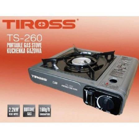 Газовая плита Tiross TS-260 туристическая Серый (002319), фото 2