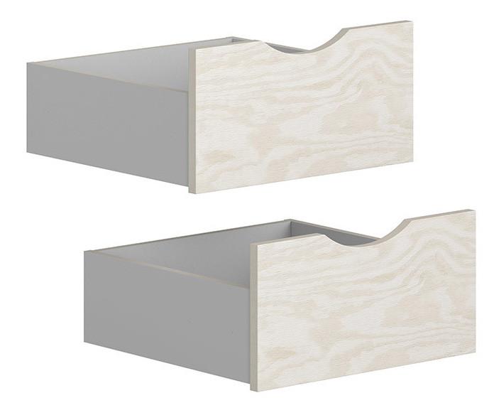 Ящик (2 шт.) SZU STANFORD BRW сосна/светло-серый