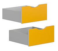 Ящик (2 шт.) SZU STANFORD BRW желтый карри