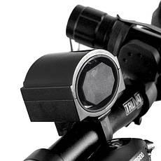 Звонок гудок электронный для велосипеда Спартак Черный (004404), фото 3