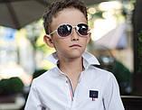 Школьная рубашка для мальчика на кнопках, фото 2