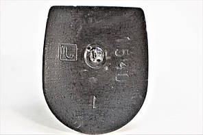 Каблук женский пластиковый 1540 р.1-3  h-9,6-10,6см., фото 3