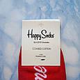 Носки Мужские красные в стиле Cocaine размер 41-45, фото 3