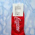 Носки Мужские красные в стиле Cocaine размер 41-45, фото 2