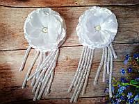 """Резинки в школу """"Пышный цветок: с висюльками-спиральками"""", фото 1"""