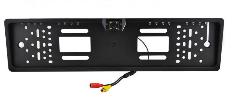 Камера заднего вида SmartTech A58 JX9488A в рамке номера Черный (008430)