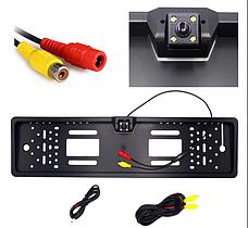 Камера заднего вида SmartTech A58 JX9488A в рамке номера Черный (008430), фото 3