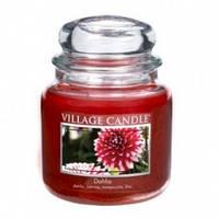 Свеча Village Candle Георгины 455г время горения до 105 часов, КОД: 1090016