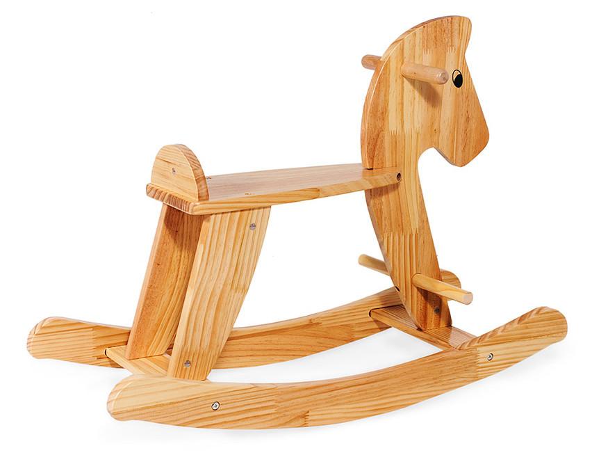 Деревянная лошадка-качалка Sapphire (коричневая)