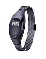Фитнес-браслет женский z18 smart band black с измерением давления