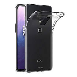 Прозрачный Чехол OnePlus 7 (ультратонкий силиконовый) (Ван Оне Плас Плюс 7)