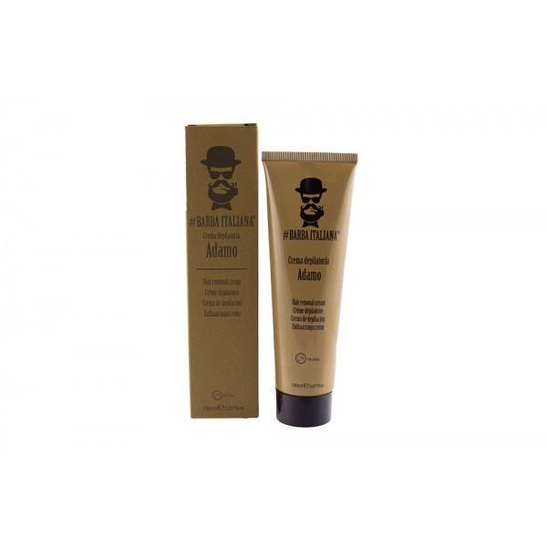 Мужской крем для удаления волос Barba Italiana ADAMO 150 мл.