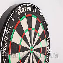 Дартс профессиональный HARROWS MARDLE PRO MATCHPLAY BOARD JE18D (d-45см), фото 3