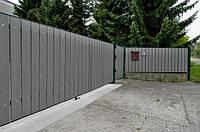 Варианты заборов из ДПК от PERWOOD, Чехия