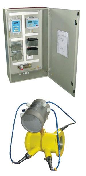 Ультразвуковой счетчик газа на давление 15 МПа