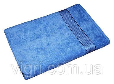 Рушник махровий Азербайджан, 40х70 див., блакитне