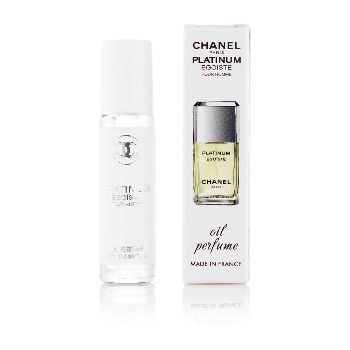 Масляный парфюм Chanel Egoiste Platinum - 10 мл (шариковый) (м) (70)
