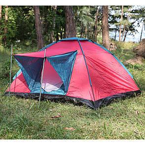 Палатка туристическая Bestway Range 68012 трехместная Красный (004759), фото 2