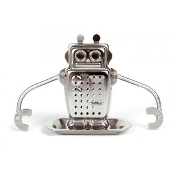 """Ситечко для заваривания чая """"Robot"""" с подставкой"""