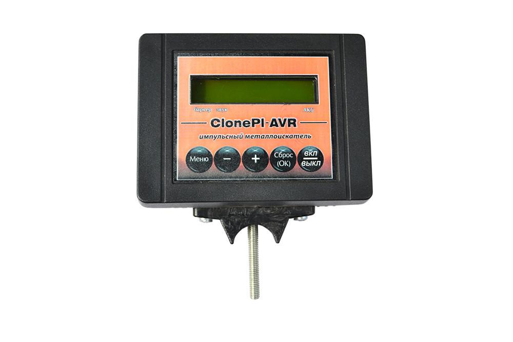 Металлоискатель импульсный Профитек Clone PI-AVR с ЖК-дисплеем глубина 1.9-3 м черный (MET-C-P193)