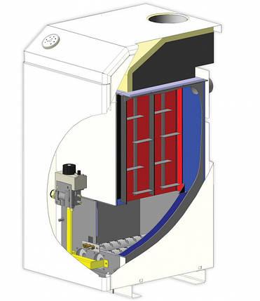 Котёл газовый МАЯК АОГВ-20 кВт КСВС с атмосферной горелкой, фото 2