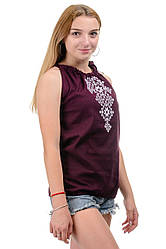 Женская туника - вышиванка, размеры 42 - 48