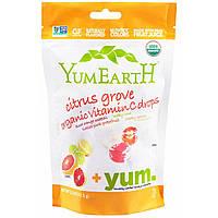 Органические леденцы с витамином C, 93,5 г, цитрусовый вкус, YumEarth