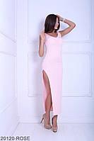 Соблазнительное и легкое приталенное платье с разрезом на ноге Melinda