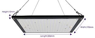 Фитопанель QB-50W(Samsung LM301B)  IP44