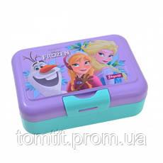 "Набор ""Frozen (Фроузен - холодное сердце)"".  Ланч бокс (ланчбокс) + бутылка с трубочкой, фото 2"