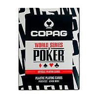 Карты для игры в покер Cartamundi Copag WSOP Черные krut06951, КОД: 258472