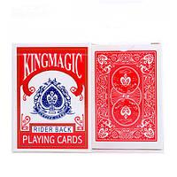 Карты для игры в покер Kronos Toys Красный krut0387, КОД: 258509
