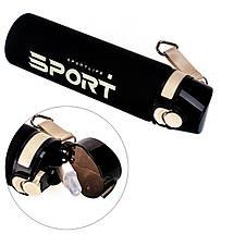 Бутылка для воды 700 мл SportLife для спорта с ремешком, фото 3
