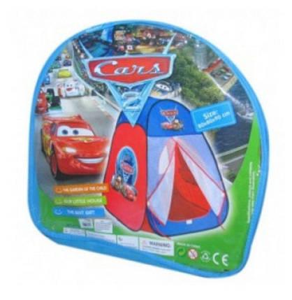 Детская игровая палатка Тачки, домик для игр, фото 2