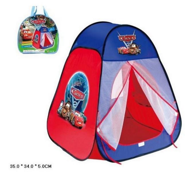 Детская игровая палатка Тачки, домик для игр