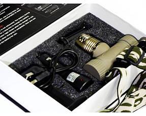 Фонарик налобный фонарь Bailong BL-6855 Хаки (002781), фото 3