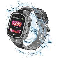 Детские водонепроницаемые смарт-часы с GPS JETIX DF45 (WiFi + Anti Lost Edition) Black