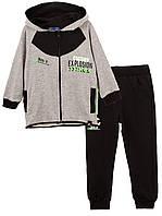 Спортивный костюм для мальчика Energy (Серый+чёрный  98)