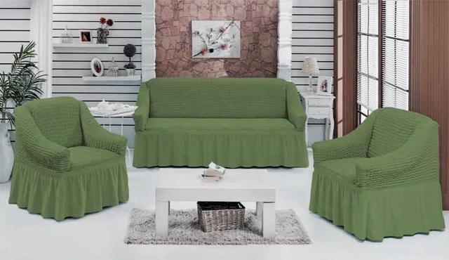 Чехлолы на диван + два кресла