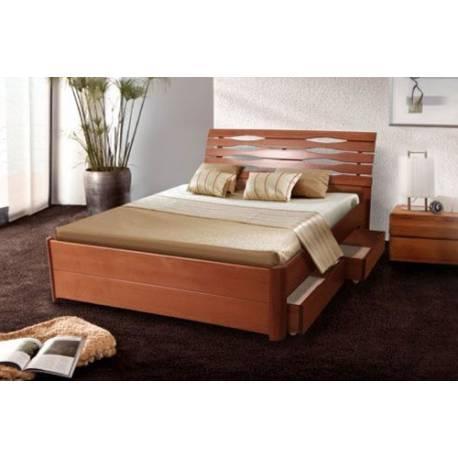 Ліжко двоспальне Марія з підйомною рамою 1,8 м