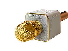 Микрофон-караоке MicGeek Золотистый (2288), фото 3