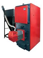 Промышленный пеллетный комбинированный котел с факельной горелкой Eurotherm 300 AM ( 300 кВт )