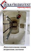 КНС с монолитного высокопрочного железобетона 2 отделения влажное (приеное) и сухое (машинное) 150-200 м3/ч, фото 2