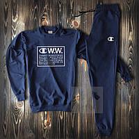 Спортивный костюм мужской Champion navy осенний | весенний , фото 1