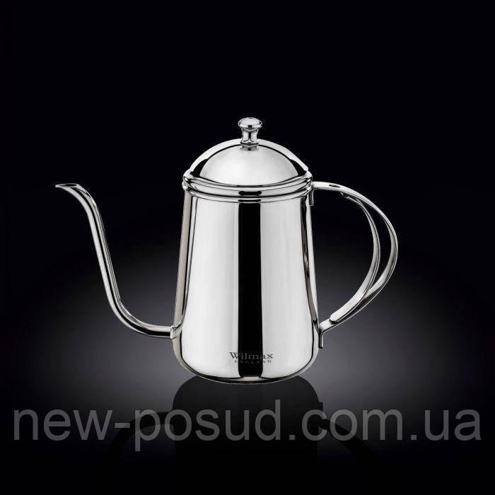 Чайник заварочный Wilmax St.Steel 600 мл Color WL-551112 / 1C